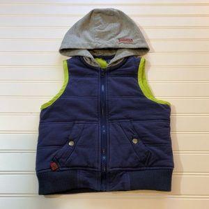 Naartjie Boys Hooded Vest